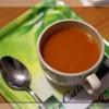 Soupe rouge (carotte, tomate, poivron, courgette)