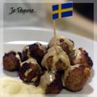Boulettes suédoises (Köttbullar)