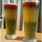 Coktail tricolore Kiwis Framboise