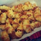 Minis croissants au jambon, top pour l'apéro !