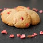 Cookies aux pralines roses & chocolat blanc {Girly}