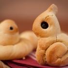 Petits pains en forme d'animaux
