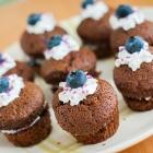 Mes petites bouchées chocolat myrtille