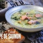 Lohikeitto : la soupe de saumon finlandaise