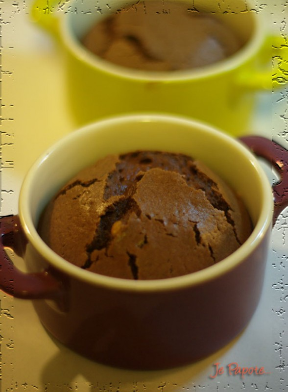 moelleux au chocolat coeur coulant nutella je papote. Black Bedroom Furniture Sets. Home Design Ideas