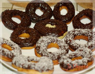 Donuts au chocolat
