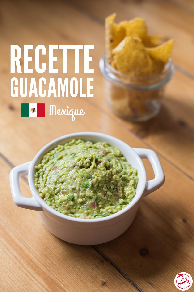 recette guacamole mexicain facile je papote le blog. Black Bedroom Furniture Sets. Home Design Ideas