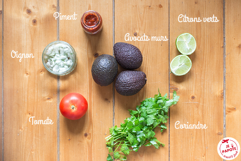 recette guacamole maison mexicain