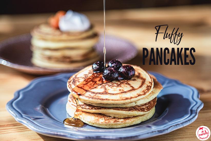 Fluffy pancakes comme aux Etats-Unis