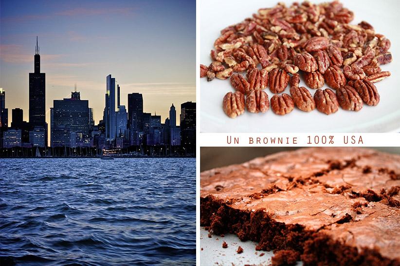 Véritable brownie américain