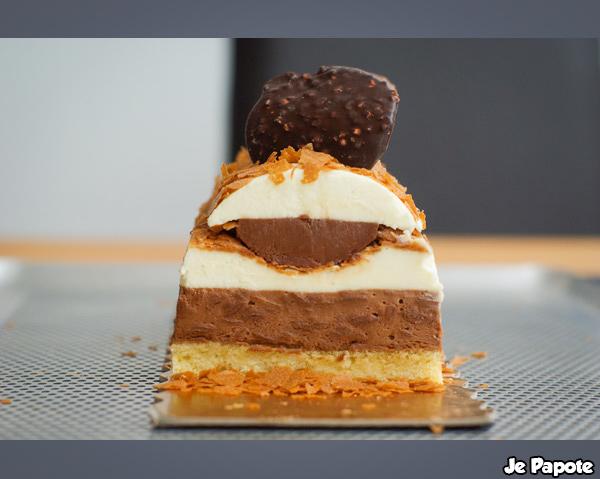 buche chocolat caramel