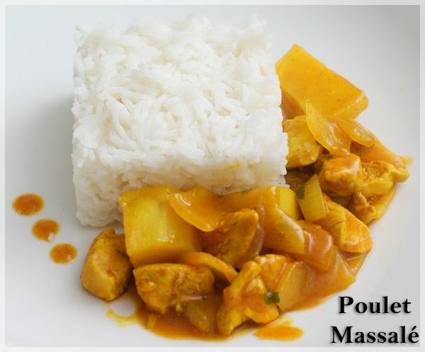 Poulet Massalé