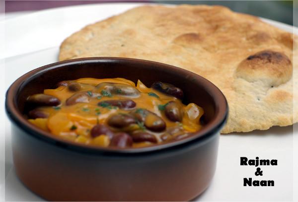 Rajma (plat indien aux haricots rouge)