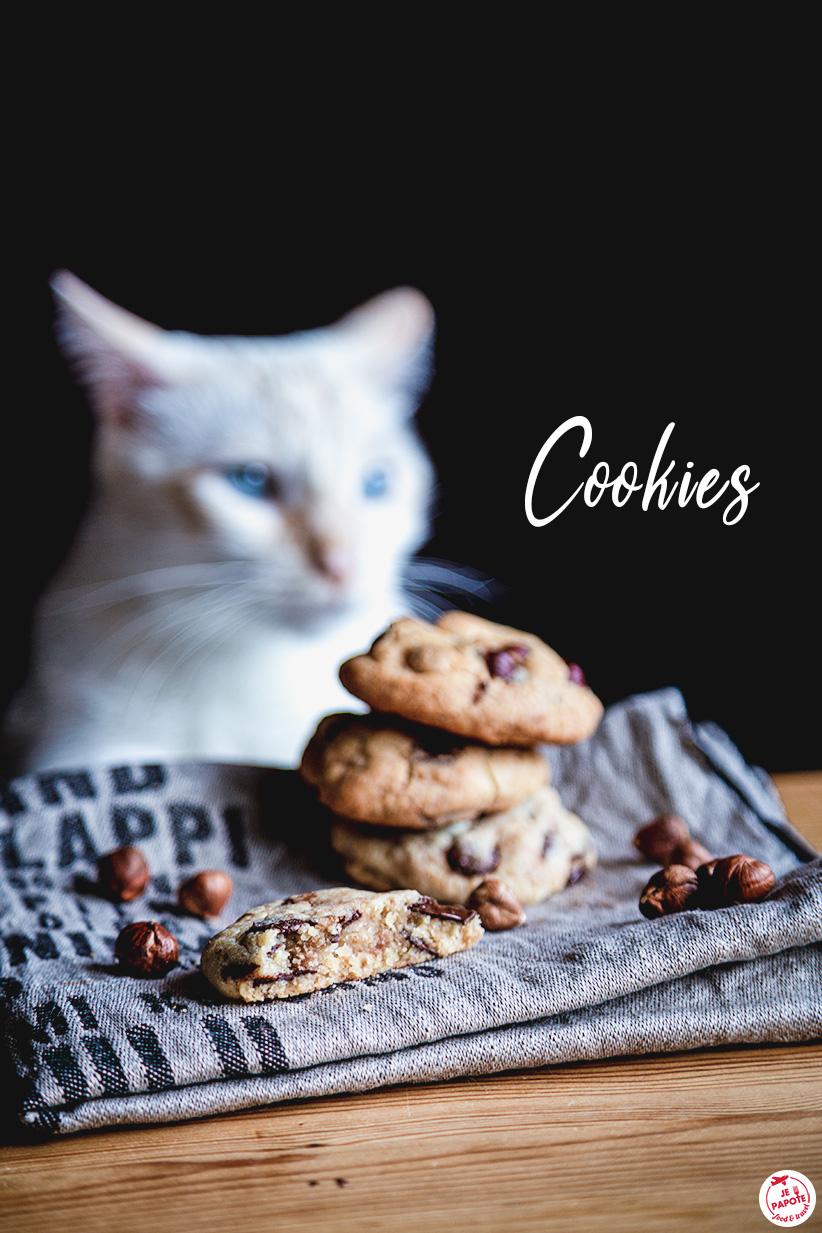 cookies moelleux americain