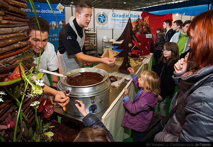 Stand IMT Salon du Chocolat de Grenoble