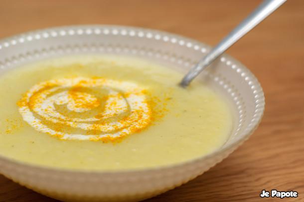 Soupe aux poireaux