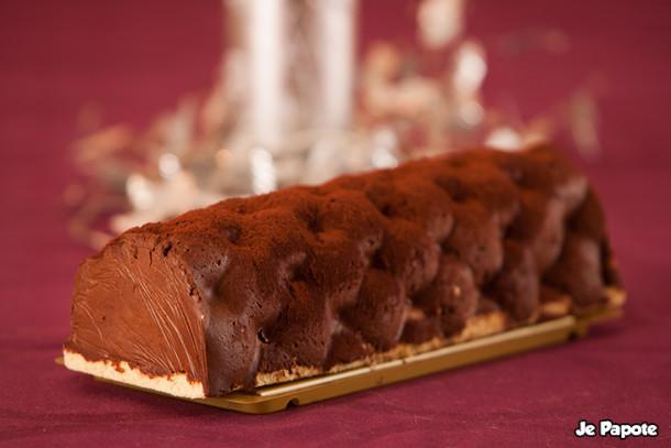 Buche de Noel chocolat praliné