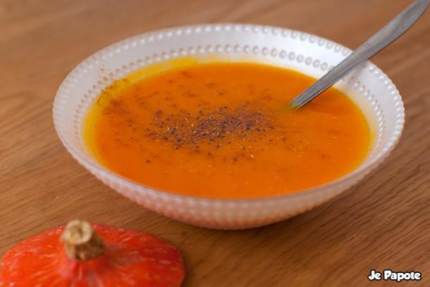 Soupe de Potimarron