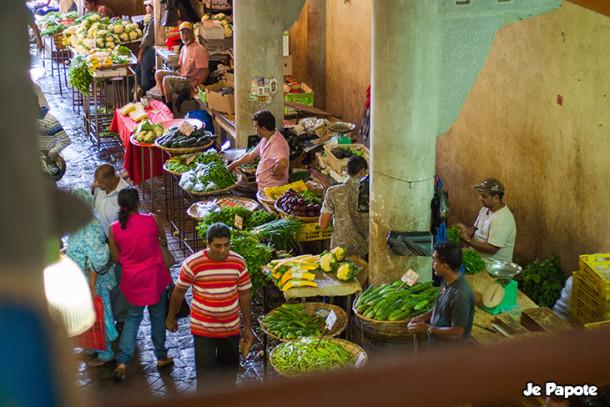 Balade au marché de Port Louis à l'Ile Maurice