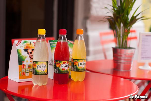 Pure, le soda français bio et 100% naturel