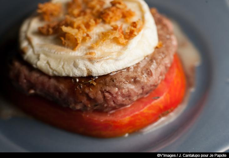 burger de tomate
