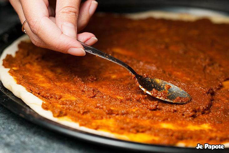Caviar de tomate pour le fond de pizza