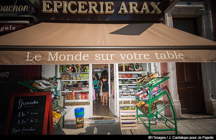 Epicerie Arax, ma petite épicerie arménienne à Grenoble