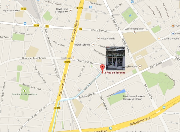 Adresse Arax Grenoble