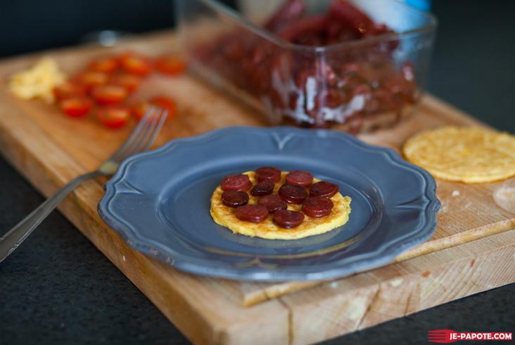 pancake d'omelette