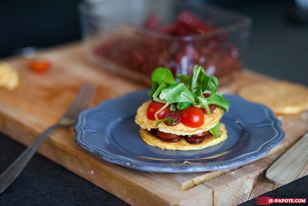 Omelettes façon pancake