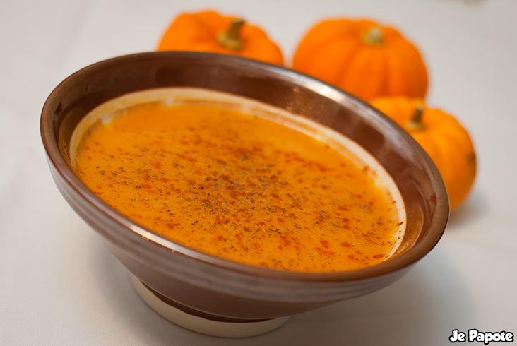 Soupe De Potiron Recette De Soupe Sur Je Papote