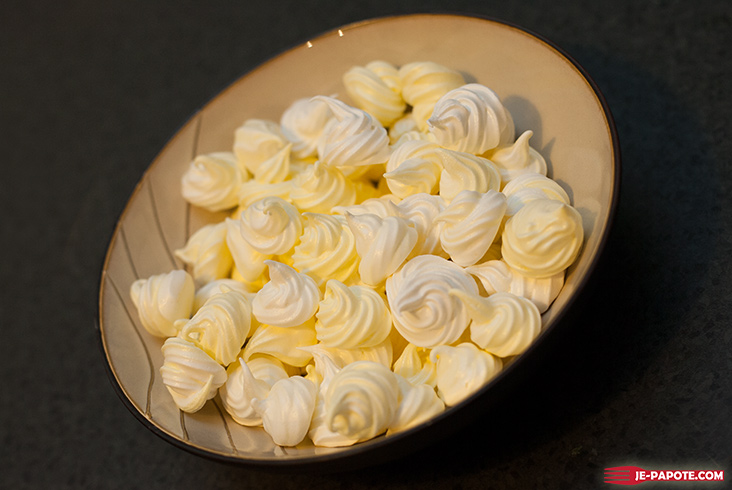 Mini meringue facile