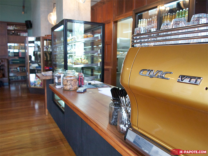 C1 espresso Nouvelle Zelande tube