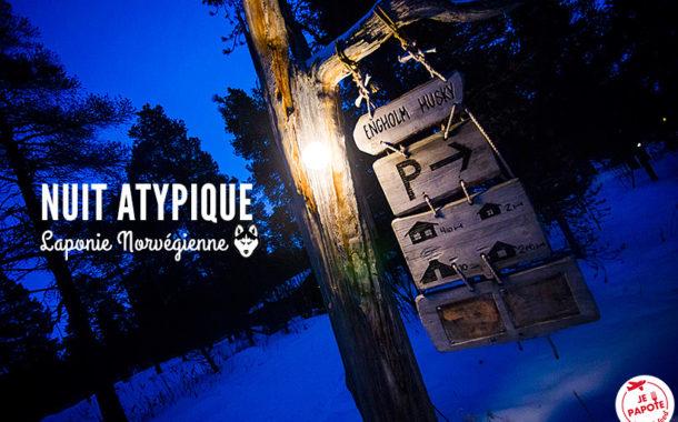Engholm Husky Lodges en Laponie norvégienne