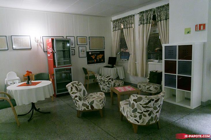 Auberge de jeunesse salle commune Honningsvag