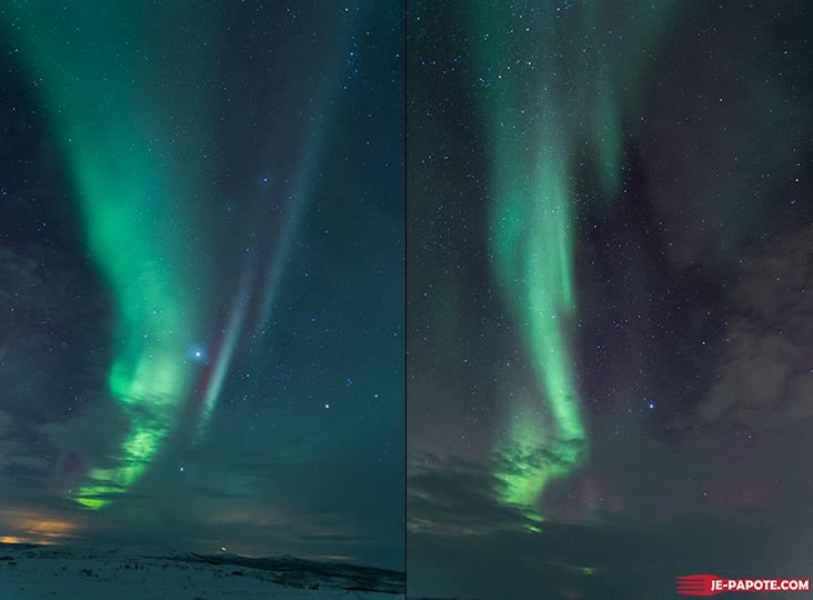 Aurore boreale Nuorgam