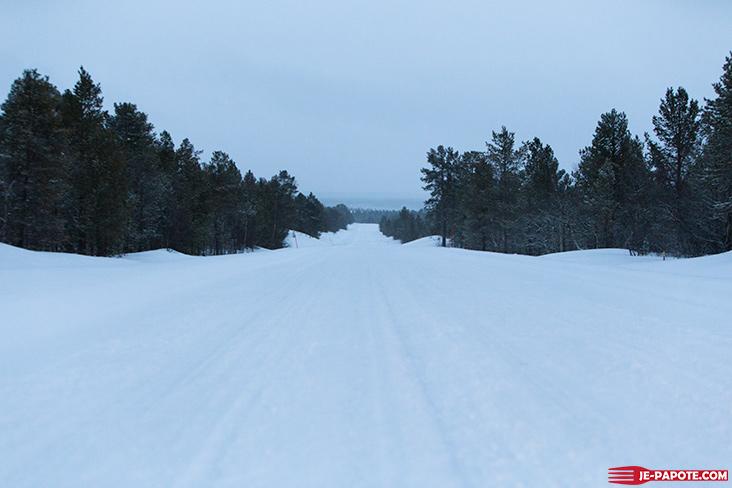 Route Nuorgam Inari