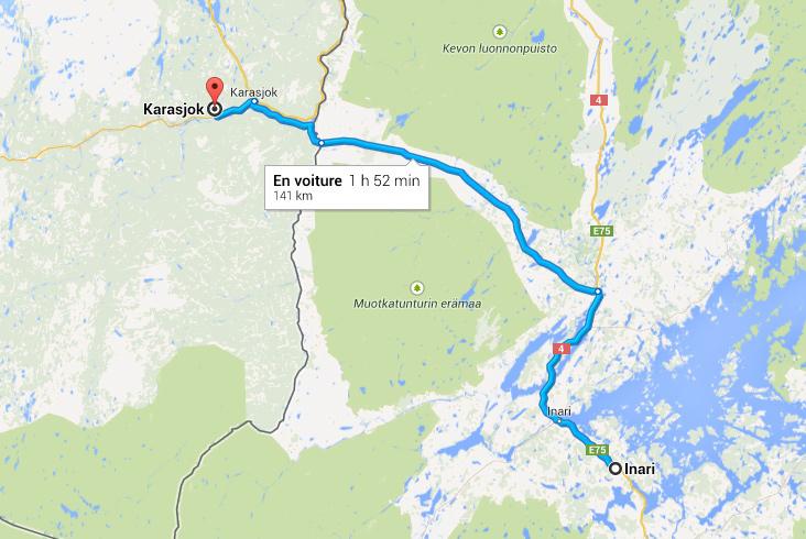 Roadtrip en Laponie : Inari >> Karasjok {Jour 10}