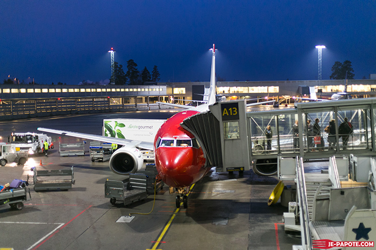 Départ Oslo Alta avec Norwegian