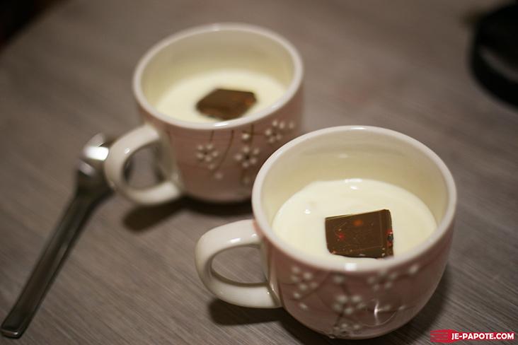 yaourt fruits passion chocolat