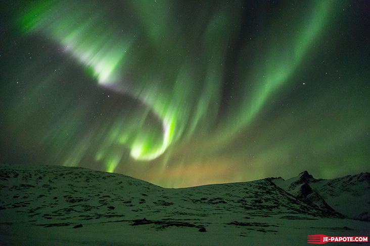 Aurores boreales Rekvik