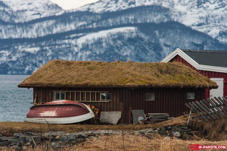 Cabane mer Norvège