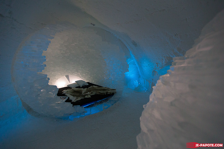 Art Suite Before the Big Bang Ice Hotel