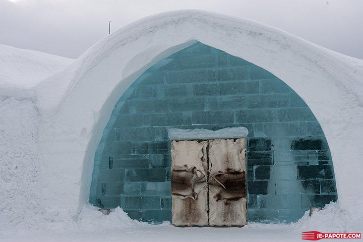 Ice Hotel Suède