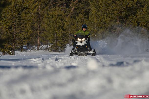 Voyage en Laponie : Sortie motoneige {Jour 12}