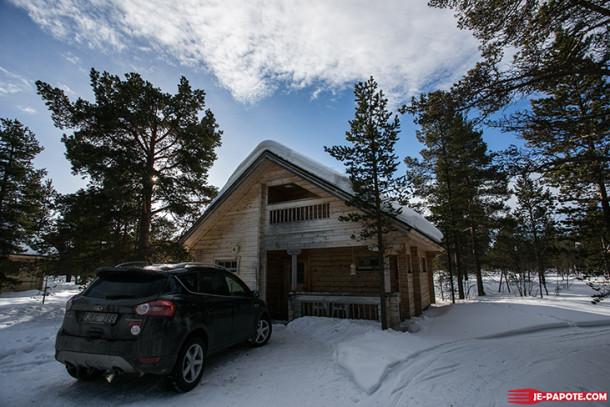 Ounasloma Luxury Cabins en Finlande