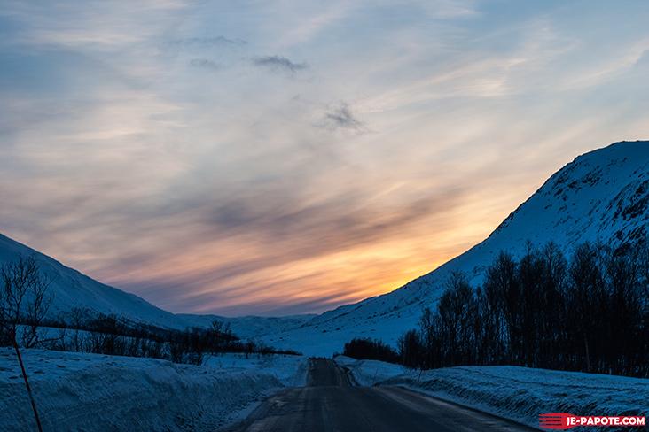 Paysage alentours de Tromso