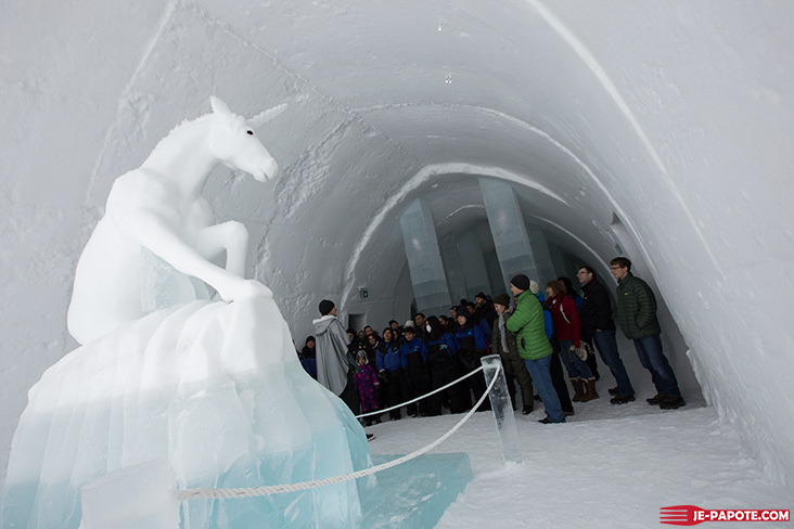 Visite guidée Ice Hotel