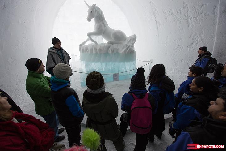 Visite Ice Hotel Kiruna Suède