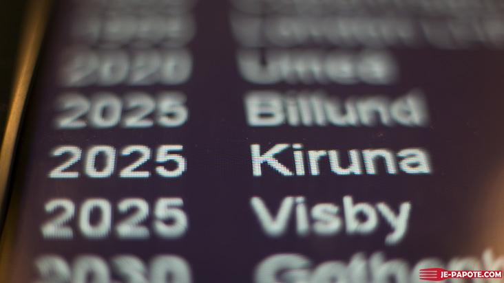 Vol Stockolm Kiruna